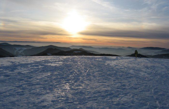 Winter auf dem Herzogenhorn
