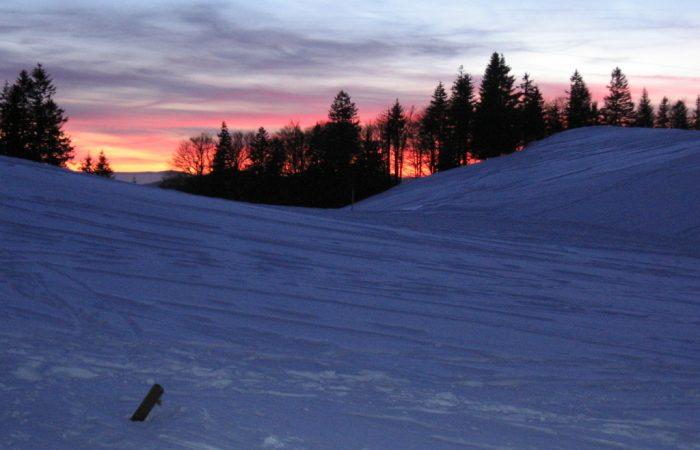 Winter auf dem Rechberg
